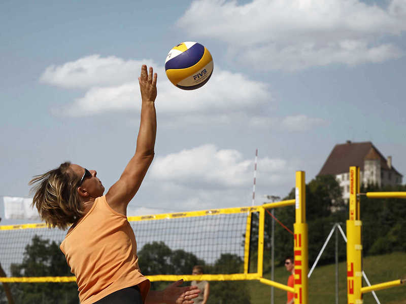 Bad Grönenbach Aktiv im Sommer Beachvolleyball