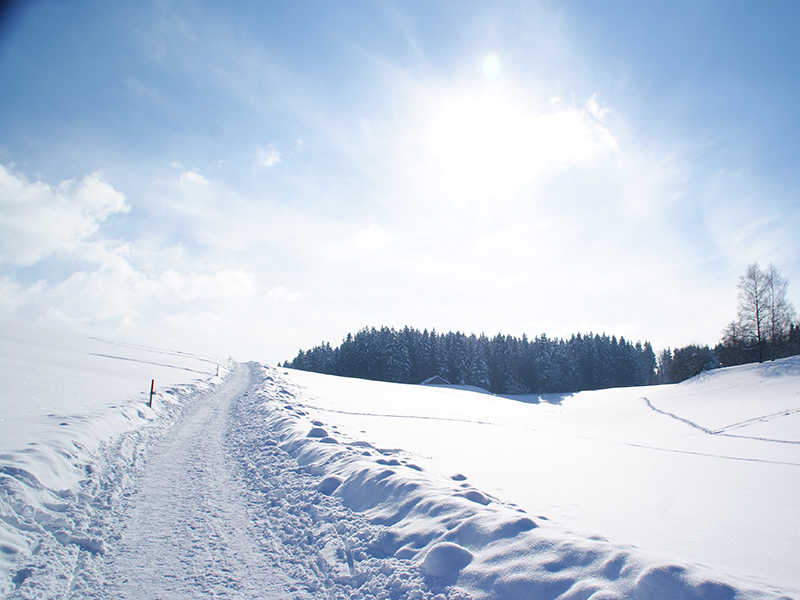Bad Grönenbach Winterwanderwege